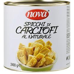 CARCIOFI NATURALI SPICCHI 2450gr