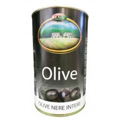 OLIVE NERE INTERE 4100gr