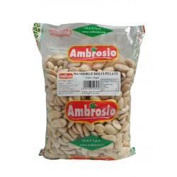 MANDORLE DOLCI PELATE 1kg AMBROSIO