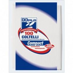 COLTELLI PLASTICA 100pz BIANCHI