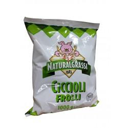 CICCIOLI DI MAIALE 1kg NATURALGRASSI