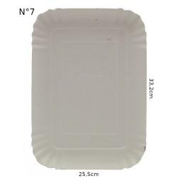 VASSOI CARTONE N°7 cm. 33,2x25x5