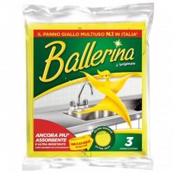 PANNO/SPUGNA BALLERINA 3pz