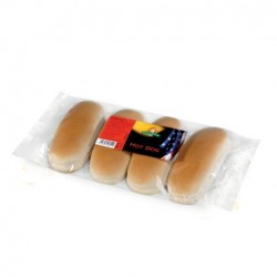 PANE HOT DOG 250gr / 4pz GECCHELE