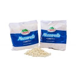 MOZZARELLA CUBETTI 2kg BUSTA MORO