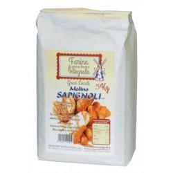 FARINA INTEGRALE 5kg SAPIGNOLI