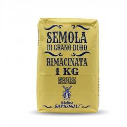 FARINA GRANO DURO RIMACINATA 1kg SAPIGNOLI