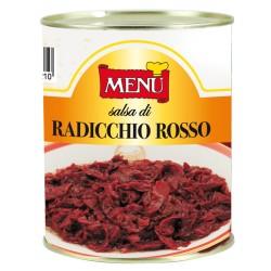 GRAN SALSA DI RADICCHIO ROSSO 800gr